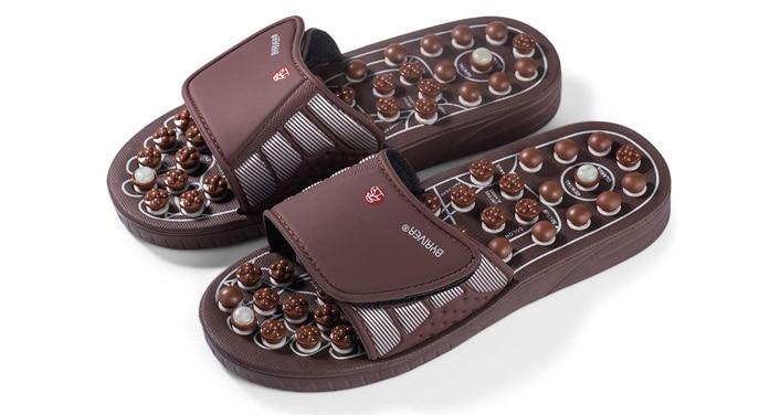 BYRIVER Acupressure Foot Massage Shoes