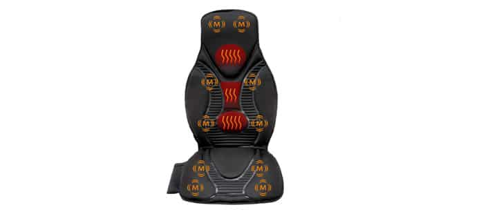 FIVE STAR FS8812 10-MOTOR MASSAGE SEAT CUSHION